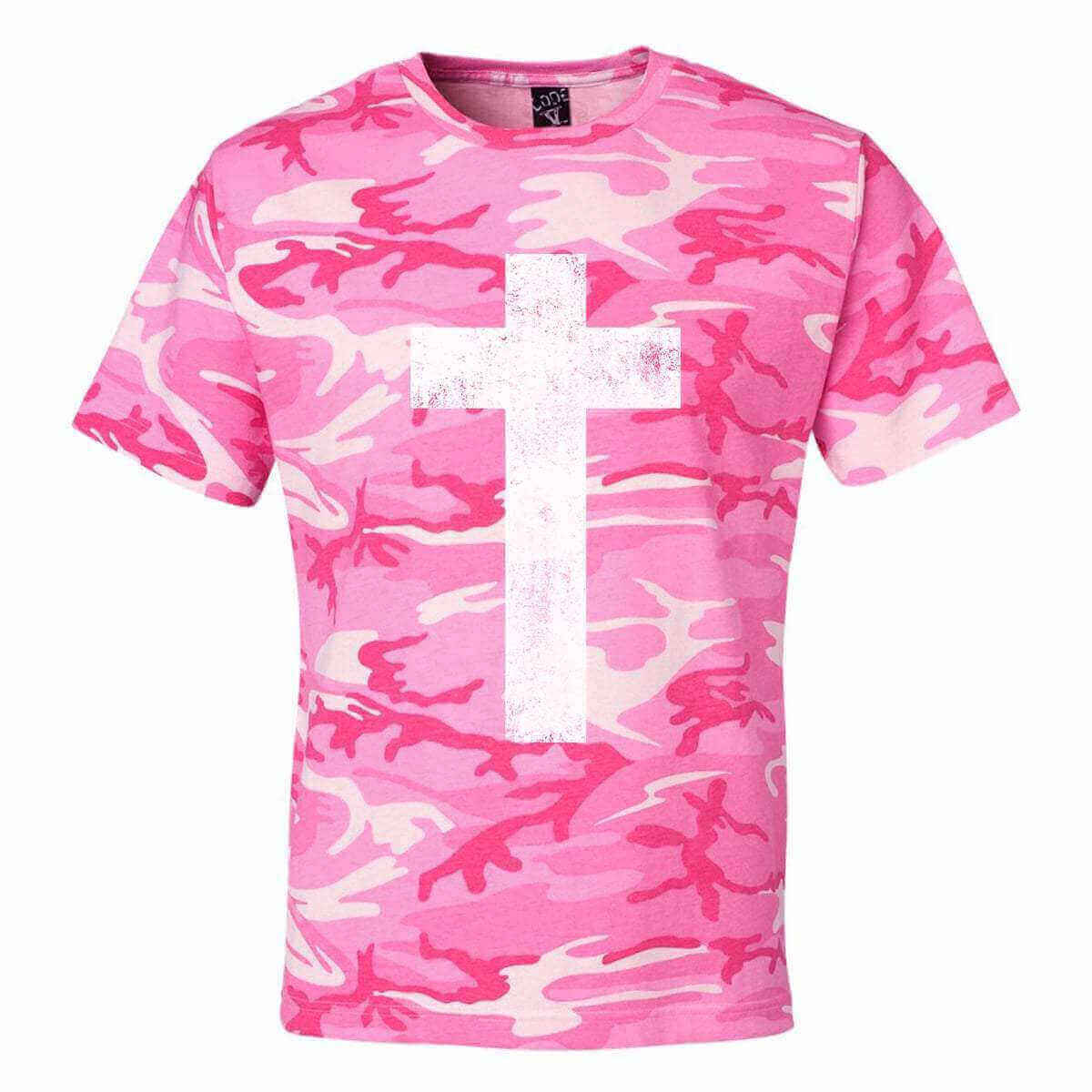 Cross Camo Christian Unisex T-Shirt