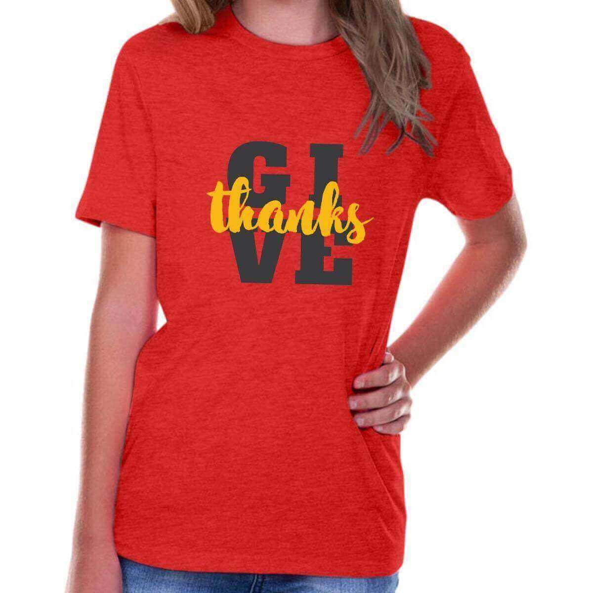 Give Thanks Youth Jersey Short Sleeve Christian T Shirt