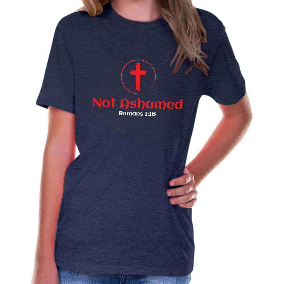 Not Ashamed Youth Jersey Short Sleeve Christian T Shirt